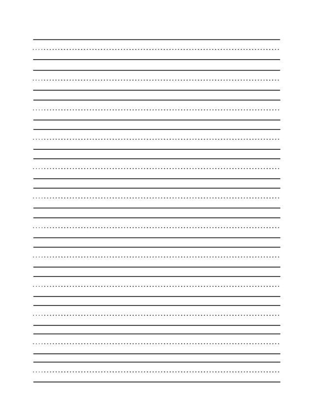 Blank Handwriting Practice Worksheets : Everything you need to learn cursive writing blank