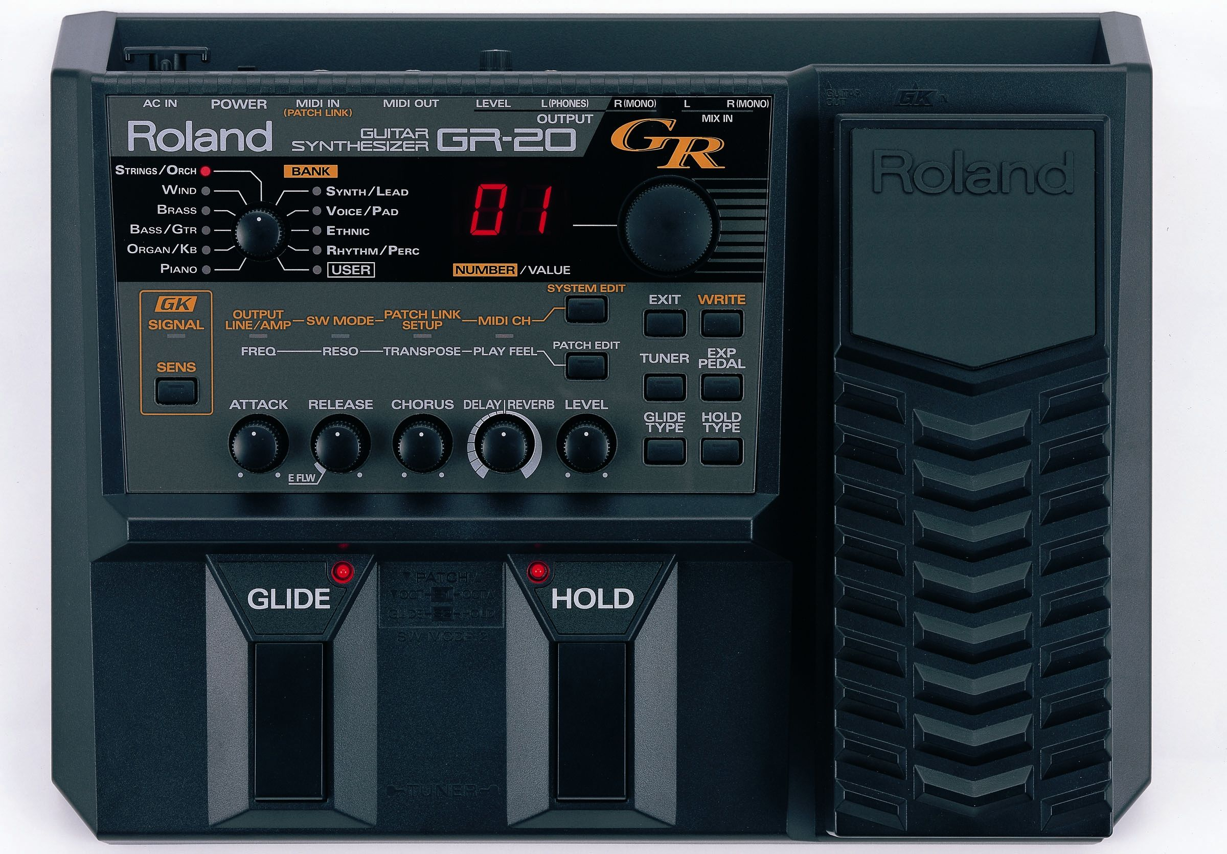 Roland Gr20 Guitar Synth Guitar Synthesizer Acoustic Guitar