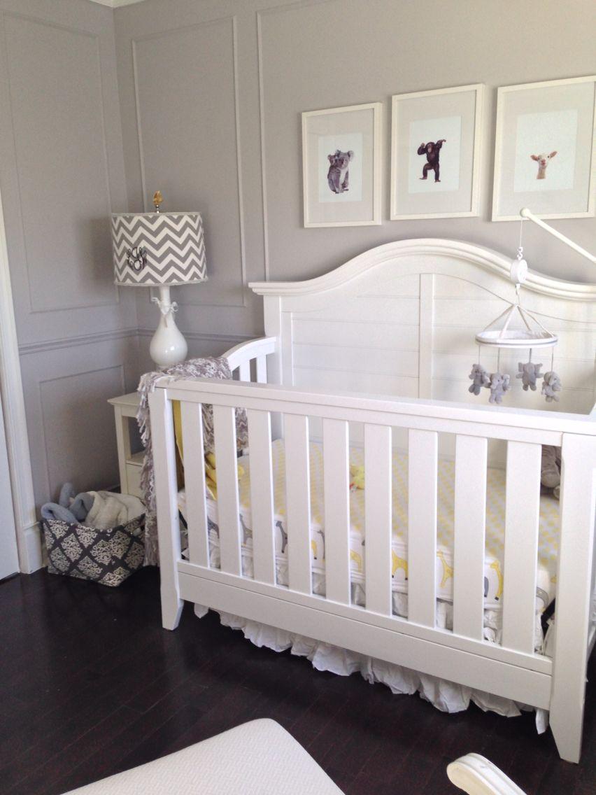 Pottery Barn Mobile Thomasville Crib Grey Nursery Neutral Lucas Boy