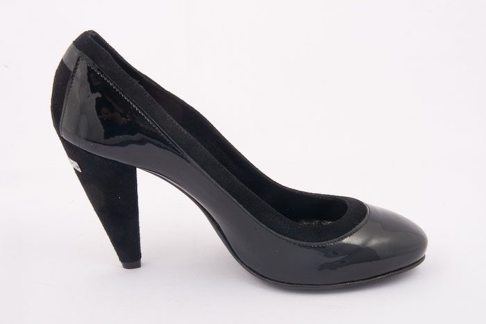 913 #CNC Costume National - #Leather #Pumps $150. These Pumps are the perfect accessory to your wardrobe with their #feminine ties, almond shaped toe and leather insole and sole. Perfect with that silky little dress or top.   On Sale Now! only 1 remaining http://rinastore.com/913-cnc-costume-national-black-black/dp/5507  Made in #Italy. Available at Rina's Boutique.