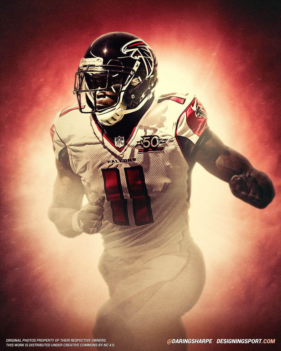 Julio Jones Atlanta Falcons Designing Sport Julio Jones Atlanta Falcons Sports Art