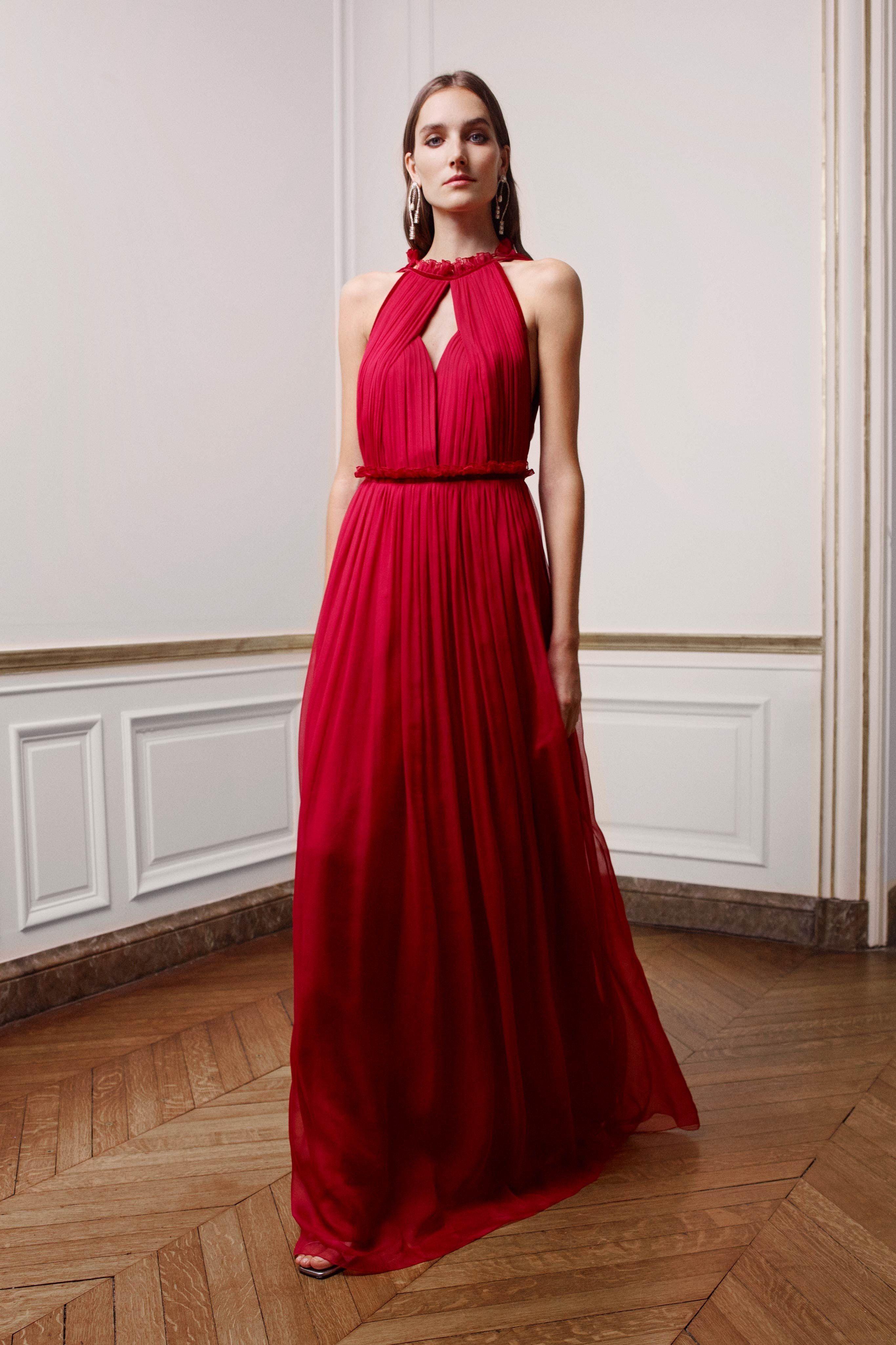 newest a71c4 40d6b Alberta Ferretti Limited Edition Spring 2019 Couture Fashion ...