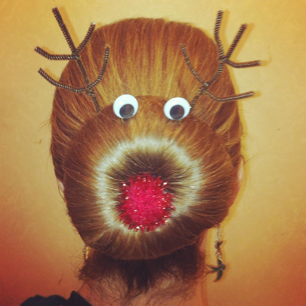 Wacky Christmas Party Ideas Part - 22: FESTIVE Hair For My Wacky Tacky Christmas Sweater Party