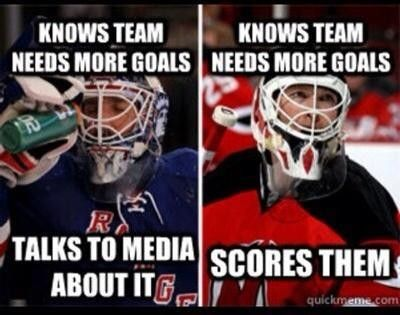 Credit To Frances Meador Nhl Memes New Jersey Devils Martin