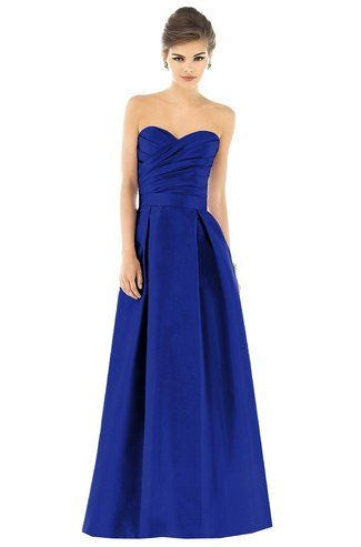 Shop Alfred Sung Bridesmaid Dress - D537 in Dupioni at Weddington Way. Find the perfect made-to-order bridesmaid dresses for your bridal party in your favorite color, style and fabric at Weddington Way.