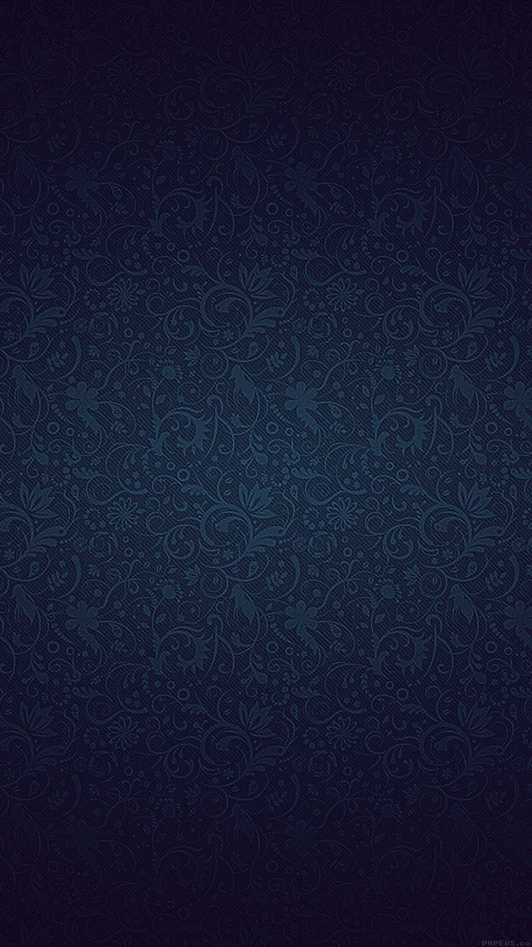 Get Wallpaper: http://goo.gl/KI5tu7 vf81-dark-blue-ornament-texture-pattern via http://iPhone6papers.com - Wallpapers for iPhone6 & plus