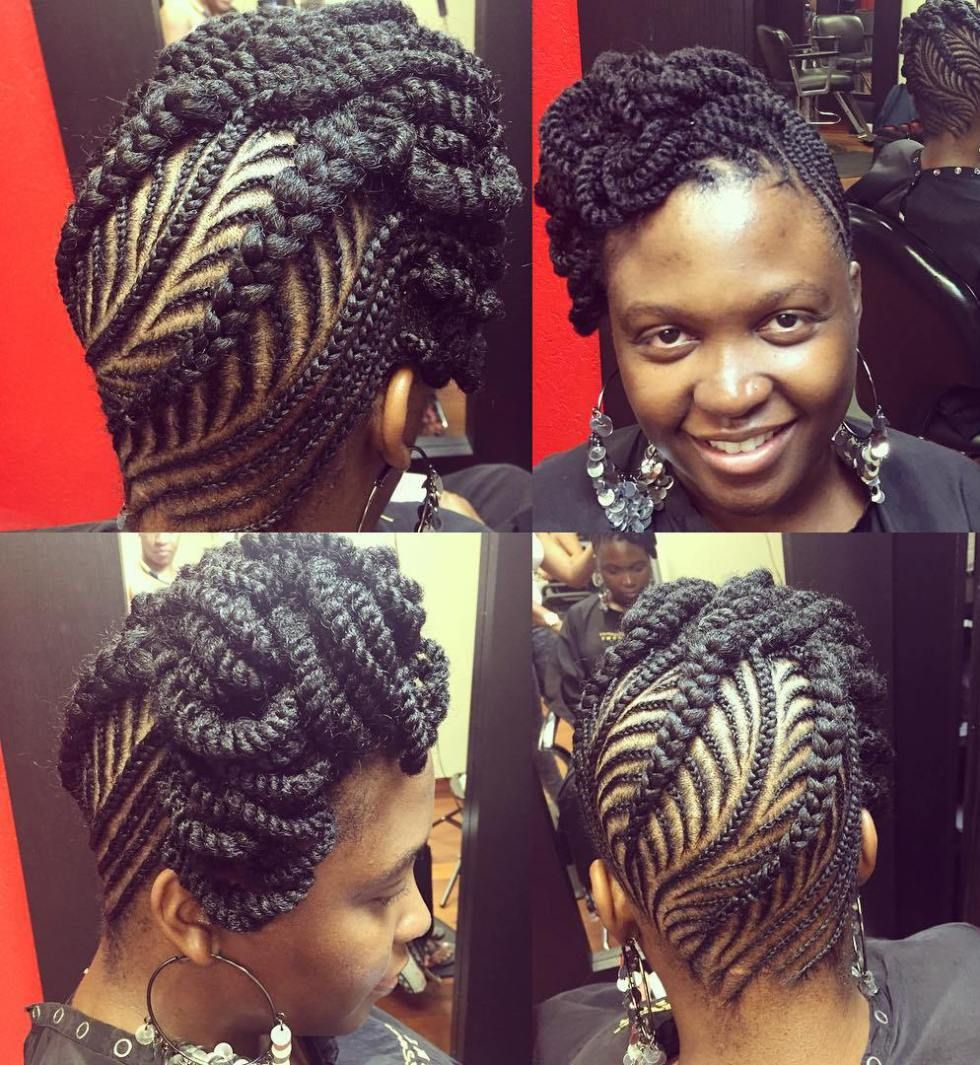 updo hairstyles for black women ranging from elegant to eccentric