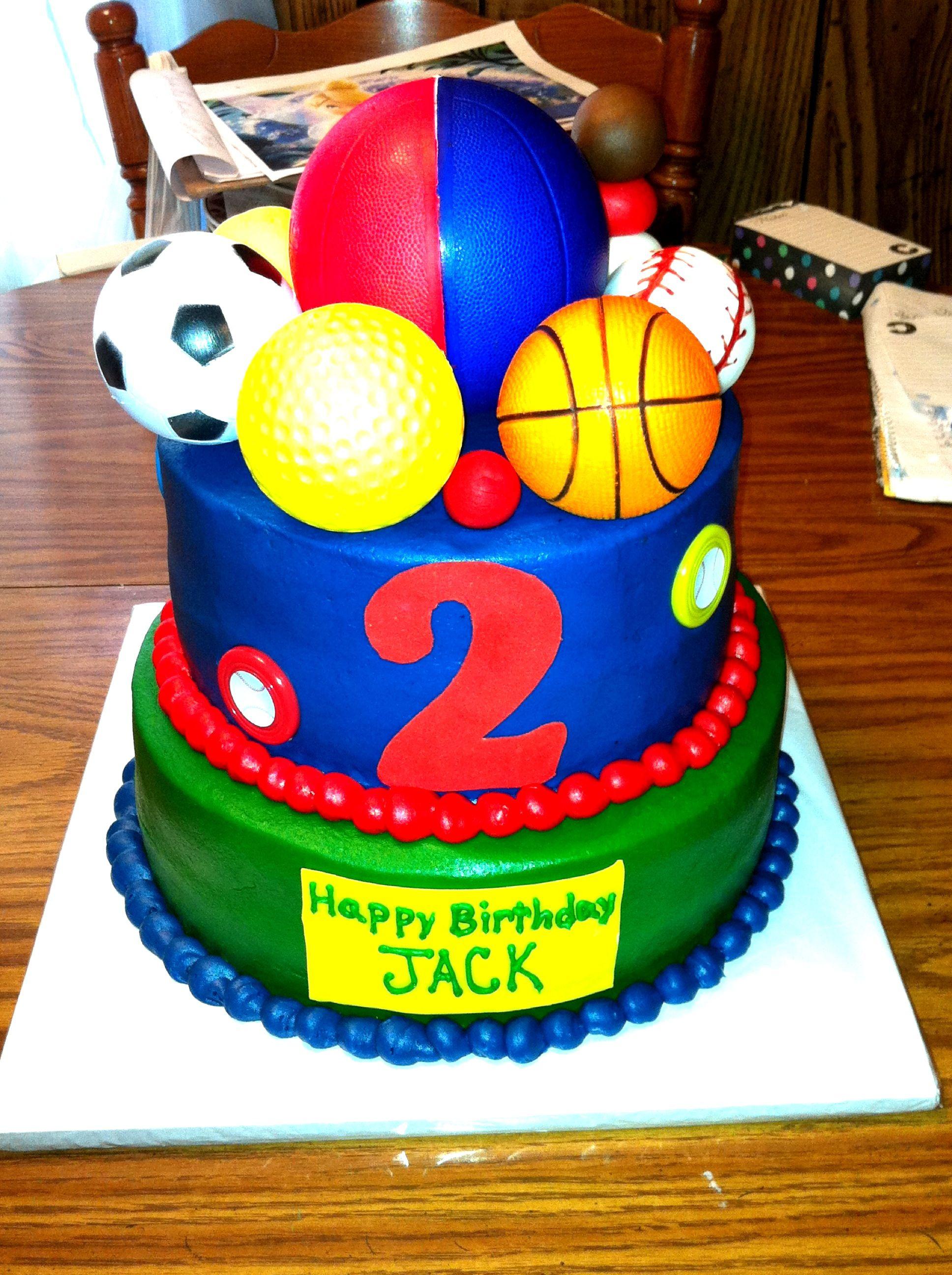 Super Sports Ball Cake Ball Birthday Parties Kids Cake Ball Birthday Funny Birthday Cards Online Inifodamsfinfo