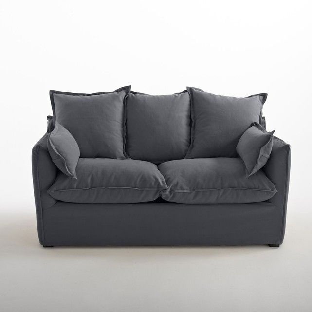 Canapé Convertible En Coton/Lin, Odna, Bultex | Convertible