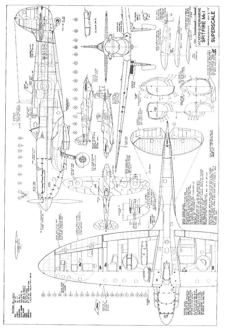 Supermarine Spitfire Blueprints Background 1 Hd Wallpapers Planes Rhpinterest: Spitfire Airplane Schematics Or Drawings At Elf-jo.com