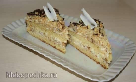"""Торт """"Пища Богов"""" с яблочной начинкой"""