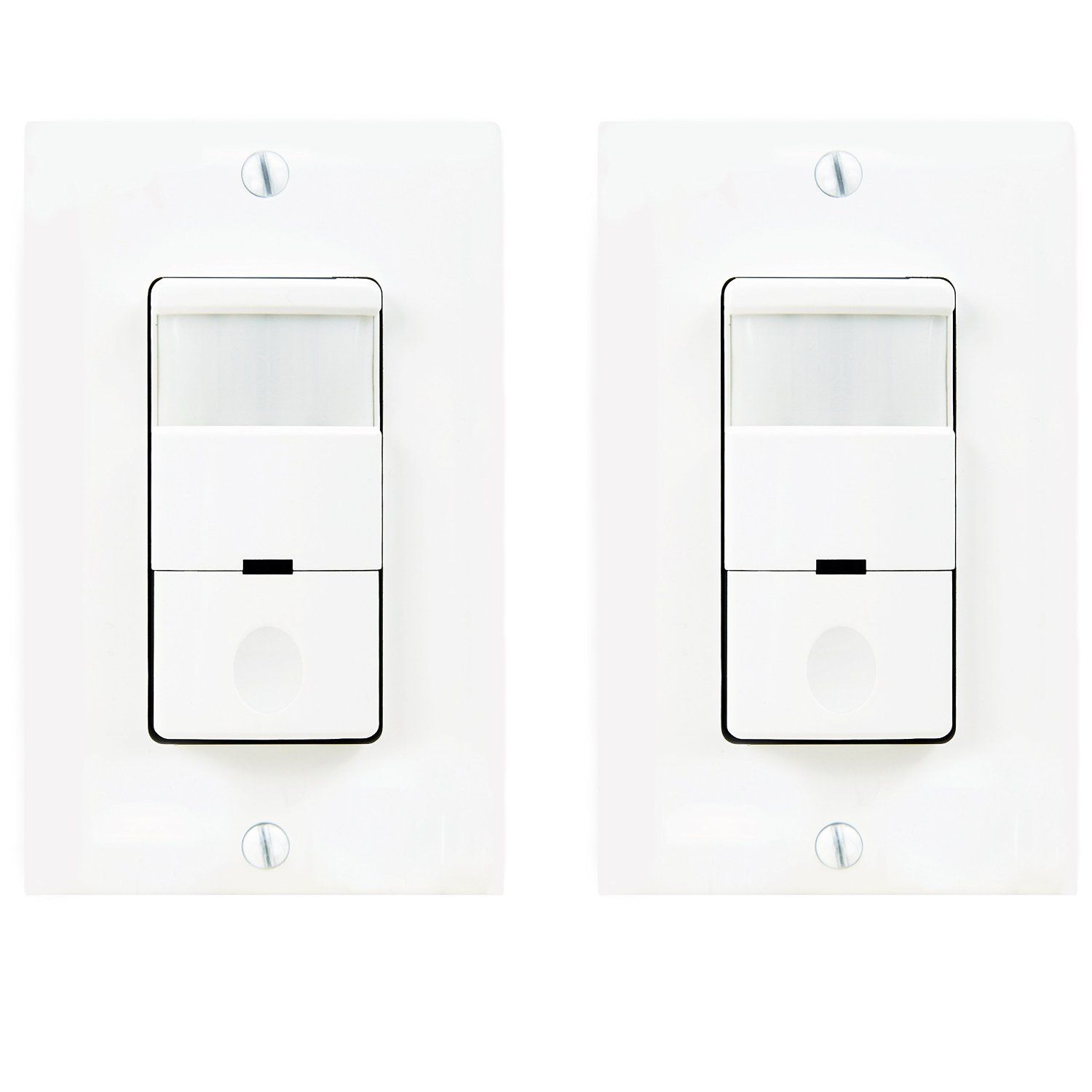 Topgreener Tdos5 Occupancy Sensor Light Switch 500 Watts 1 8 Hp Single Pole Free Wall Plate Neutral Required White Plates On Wall Light Sensor Light Switch