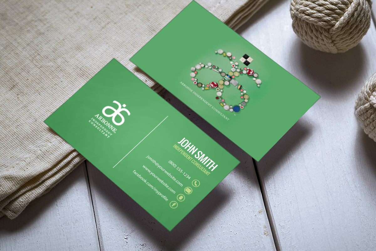 Just For Arbonne Consultants Mlm Arbonne Print Paper Graphicdesign Businesscards Contactcard Marke Arbonne Business Cards Free Business Cards Arbonne