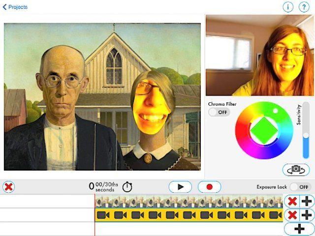 Making Art Interactive Art Lesson Plans Art Apps Art Classroom