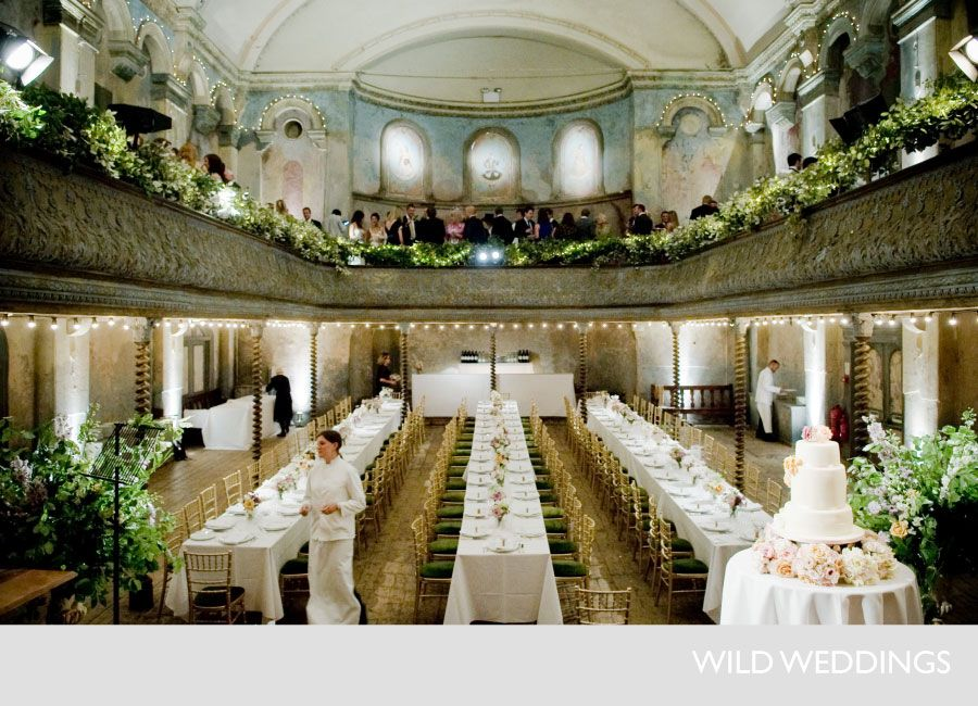 Elite Productions St John S Now Offers Very Similar Gold Chairs As These I Saw Them Myself And They A Wilton Music Hall London Wedding Venues London Wedding