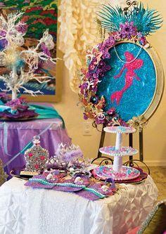 http://blog.hwtm.com/2014/05/sparkle-glam-little-mermaid-under-the-sea-birthday-party/