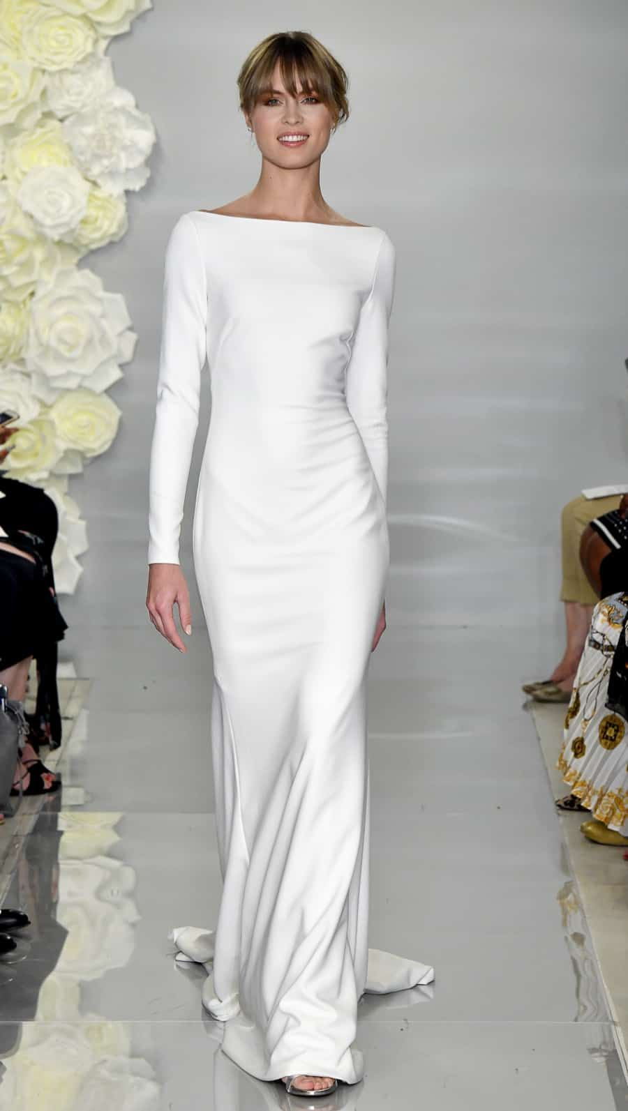 Lace wedding dress for plus size january 2019 Theia Wedding Dresses Fall   wedding  Pinterest  Wedding