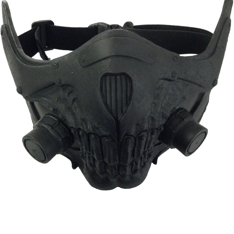 Amazon.com: Mad Joe Max Mask Cosplay Cool PVC Half Face Gas Mask ...