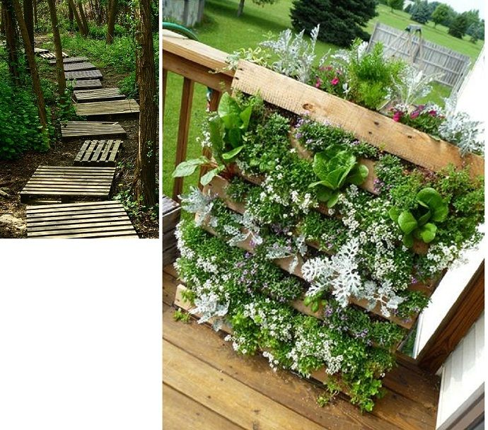 25 ways of how to use pallets in your garden designrulz