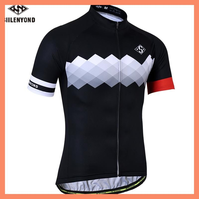 10d37c292 SIILENYOND Quick Dry Cycling Jersey Summer Short Sleeve MTB Bike Cycling  Clothing Ropa Maillot Ciclismo Racing