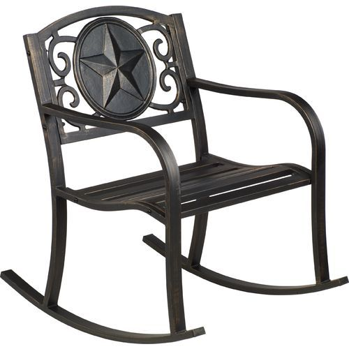 Pleasing Mosaic Rustic Star Rocker 50 At Academy Love These And Squirreltailoven Fun Painted Chair Ideas Images Squirreltailovenorg