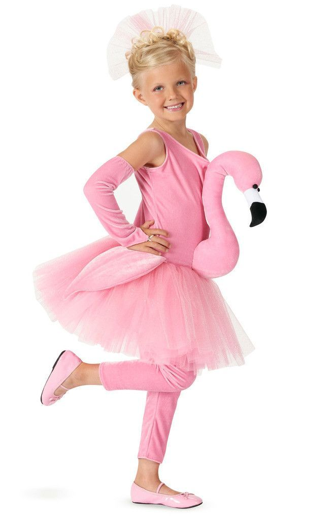Flamingo Tutu Kids Costume Disfraz De Flamenco Disfraces Tul Disfraces Niños