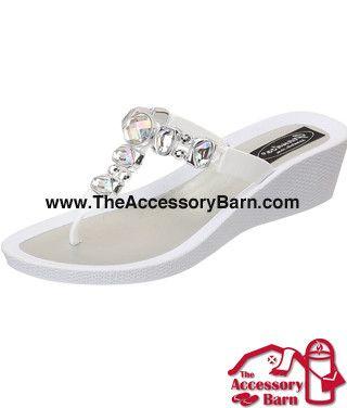 7080a18c4afcc Grandco Sandals - Sapphire Wedge 27173E