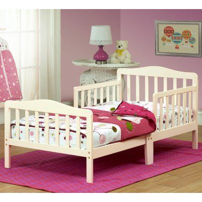 The Orbelle Contemporary Solid Wood Toddler Bed - French ...
