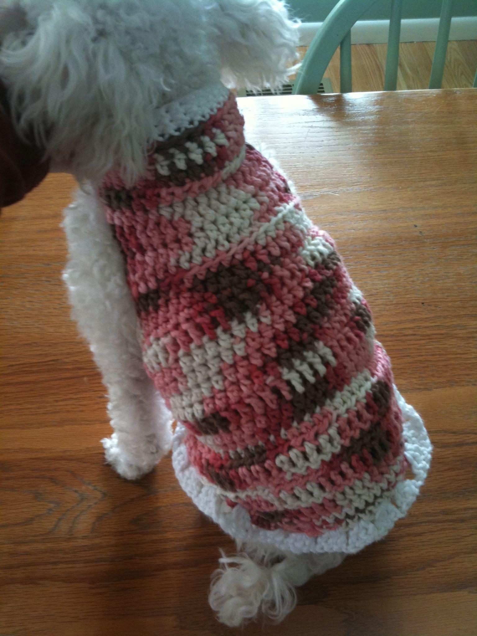 puppy sweater   Create New Boardcrochet   Pinterest