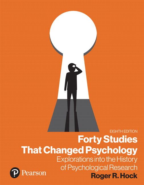 Studies That Changed Psychology Google Search Psychology Psychology Programs Study