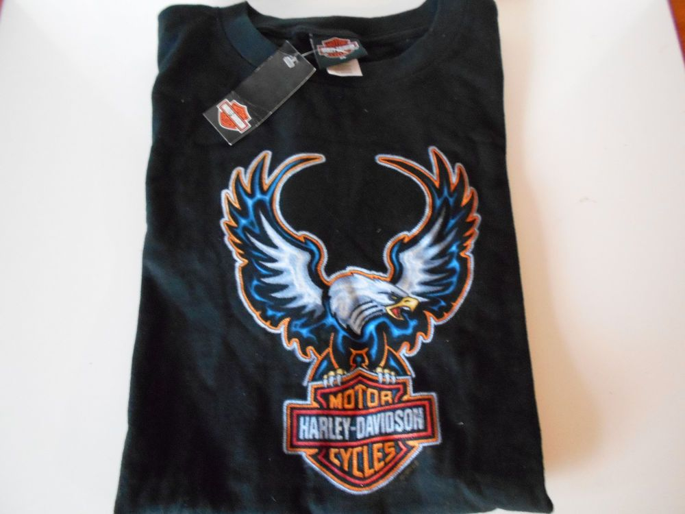 BLACK HARLEY DAVIDSON SHIRT, NEW WITH TAGS, SIXE XL SHARP!!! in Clothing, Shoes & Accessories | eBay