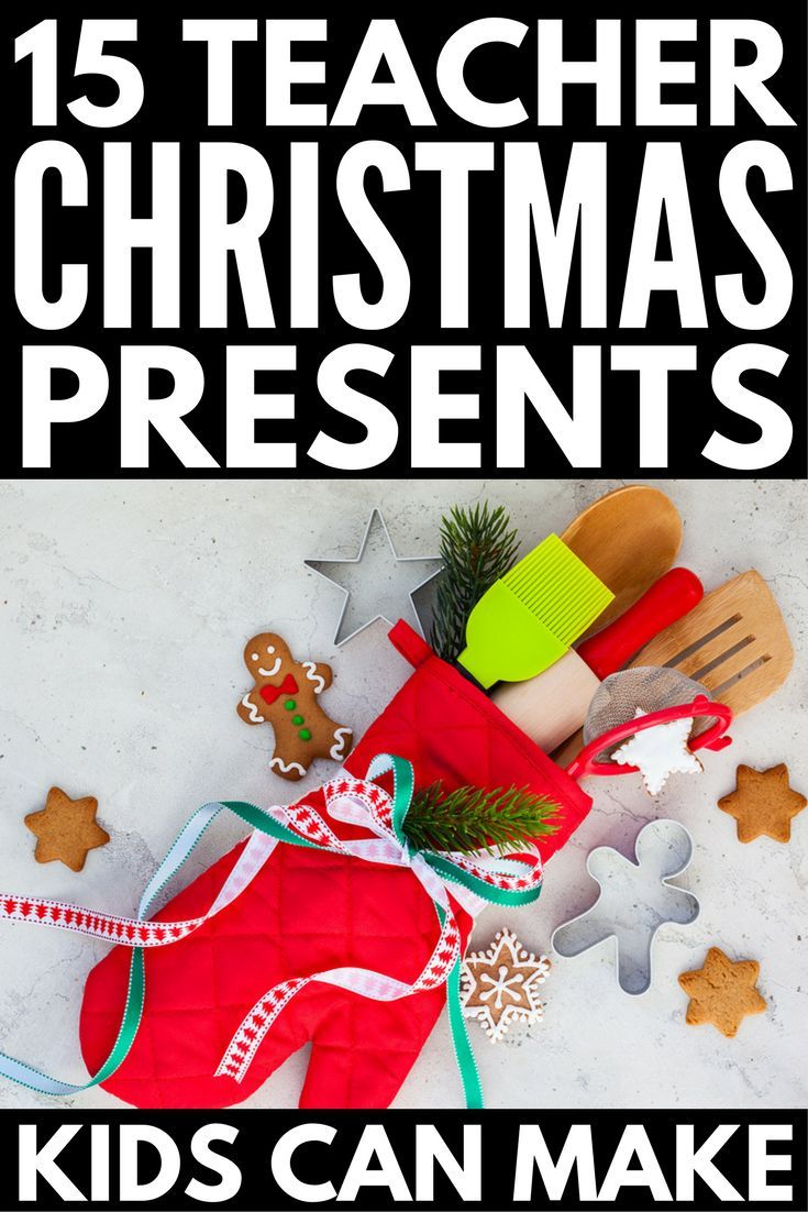 15 DIY teacher Christmas gifts | GIFTS | Pinterest | Teacher ...