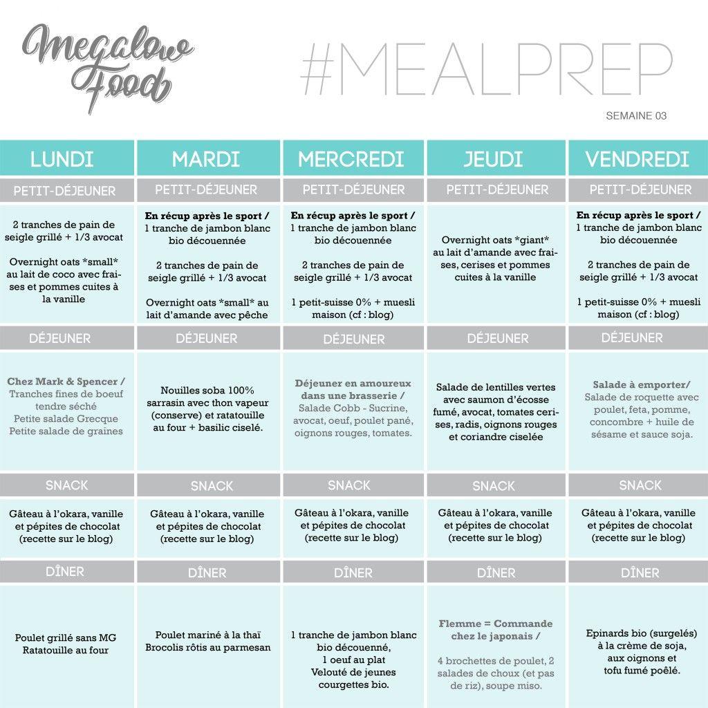 one week of healthy lowcarb meal plan une semaine de repas sains et ig bas megalowfood food. Black Bedroom Furniture Sets. Home Design Ideas