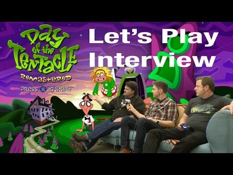 Aquí tenéis los primeros 20 minutos de The Day of the Tentacle Remastered - http://www.juegosycosplays.com/juegos/noticias/aqui-teneis-los-primeros-20-minutos-de-the-day-of-the-tentacle-remastered-123