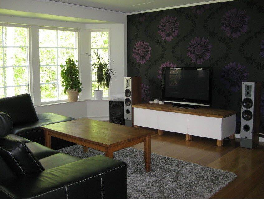 Floral Technology  Living Room Decoration  Pinterest Best Living Room Wallpaper Design Ideas Design Decoration