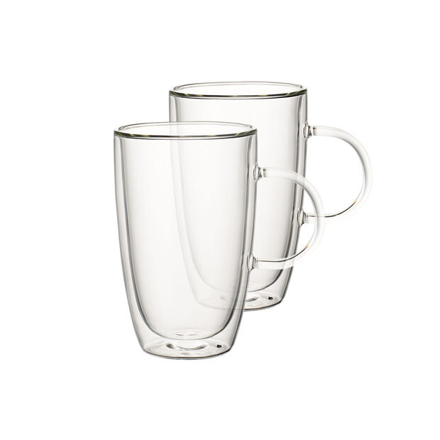 Artesano Hot Beverages Cup Extra Large Set Of 2 15 25 Oz Glass Cup Glass Cup Set Hot Drink
