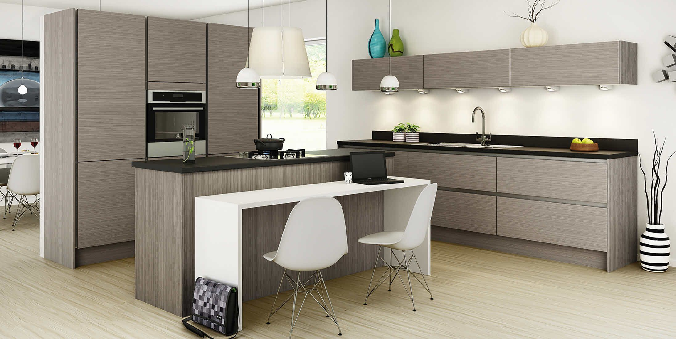 Integra Fantasy Grey kitchen units. 50 off all
