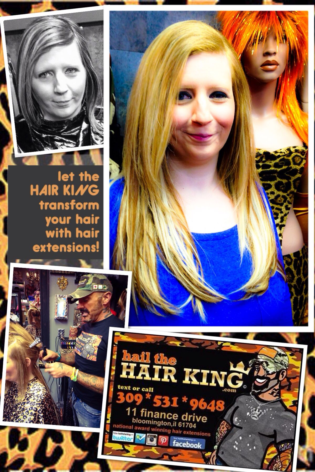 Fusion Hair Extensions By Travis Manning Of Hail The Hair King In