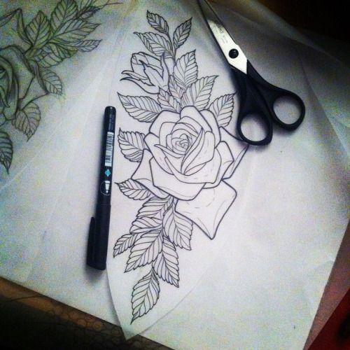 Tattoosbynateorrell Traditional Rose Tattoos Neo Traditional Roses Tattoos
