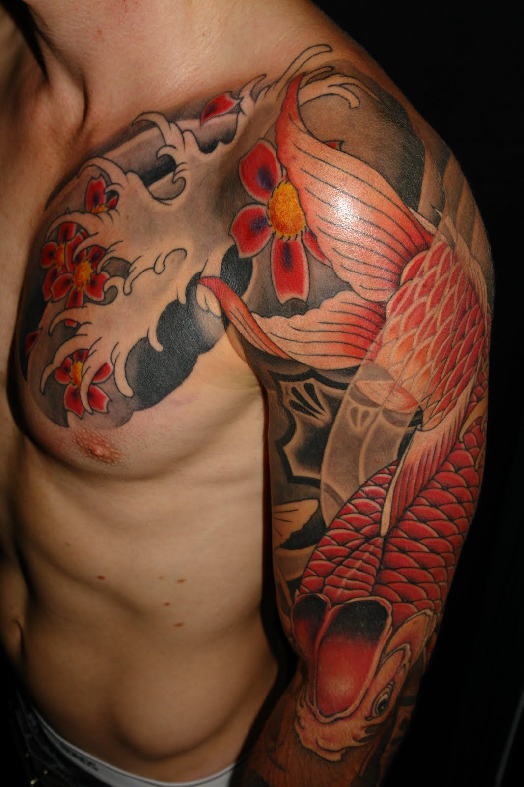 Tattoo asian japanese sleeve young small