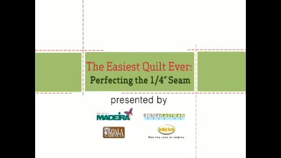 Watch The Easiest Quilt Ever in the All People Quilt Video