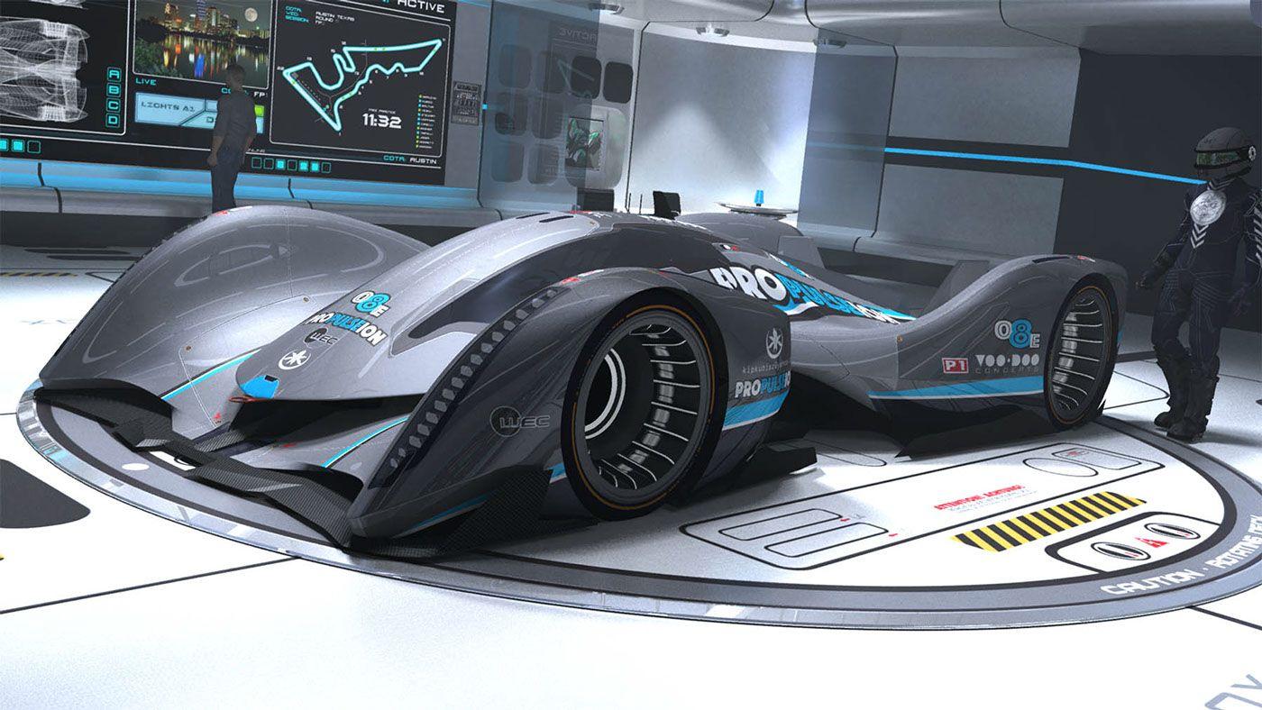 behance editing lmp voodoo concept 9r concept car kip kubisz pinterest racing team. Black Bedroom Furniture Sets. Home Design Ideas