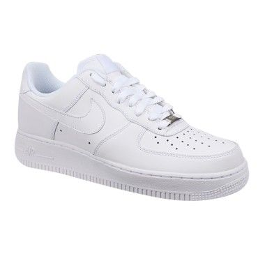 Nike Air Force 1 07 Formateurs Velcro Blanc