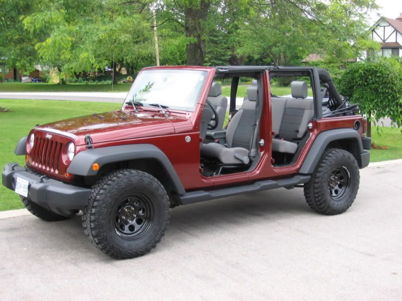 We have always run our Jeeps with no tops or doors from spring through fall. & JKowners.com : Jeep Wrangler JK Forum | Areneros y camperos ... Pezcame.Com