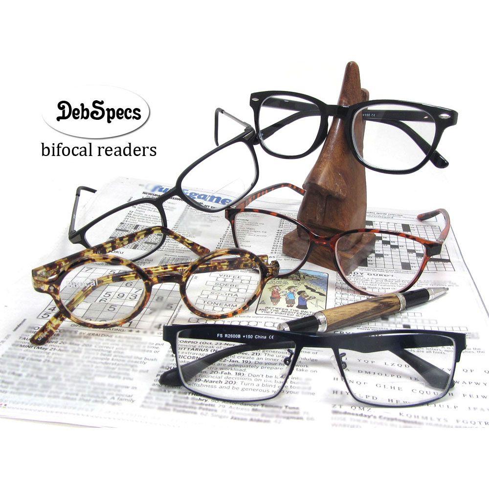 d40b6fc0f53a Super trendy BIFOCAL reading glasses for him & her. Under $20. Regular  &