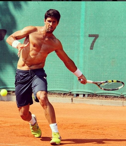 The 5 Sexiest Male Tennis Players Tennis Players Fernando Verdasco Tennis