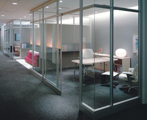 Steel Case Privacy Walls Small Office Design Modular Walls