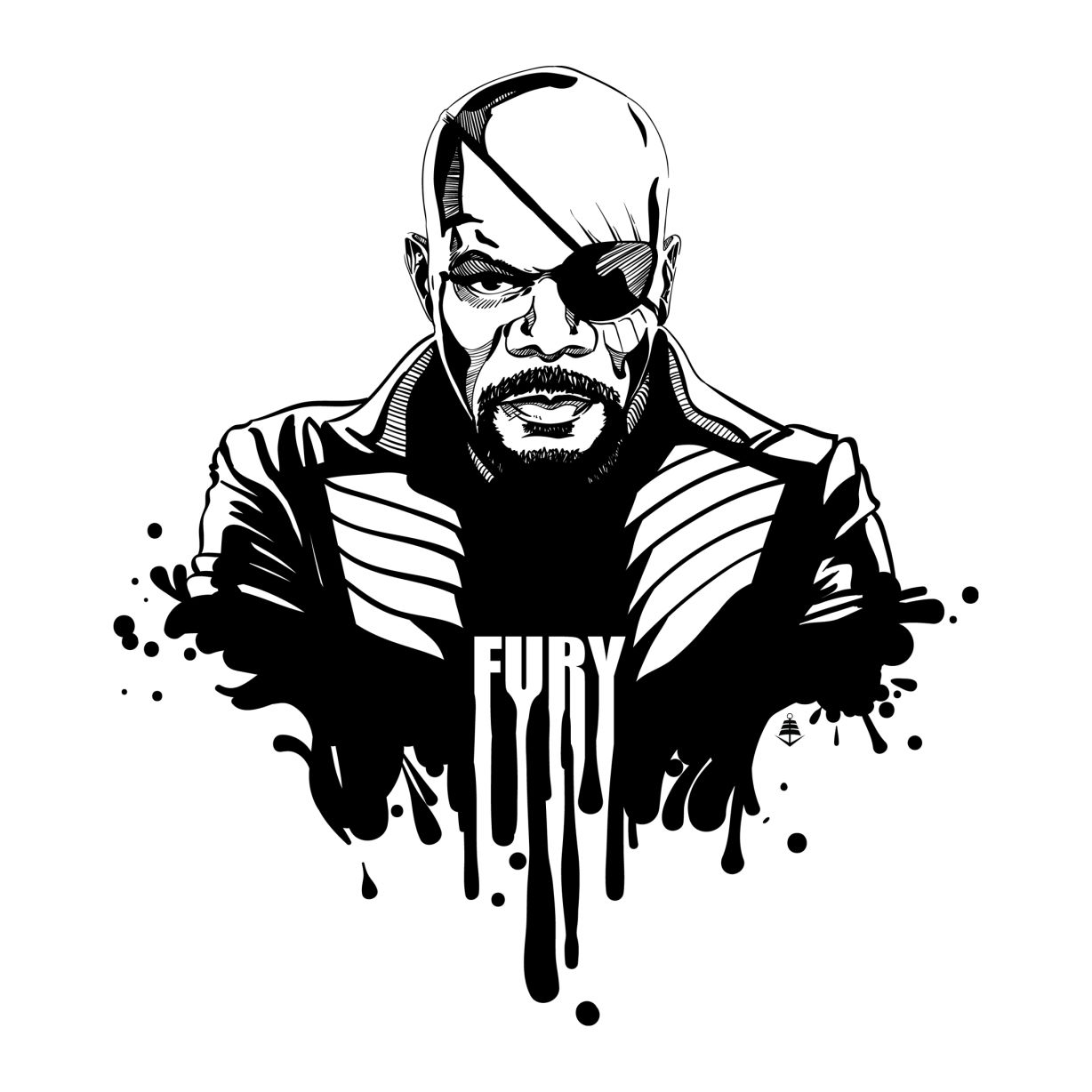 Phase Two Inked Nick Fury