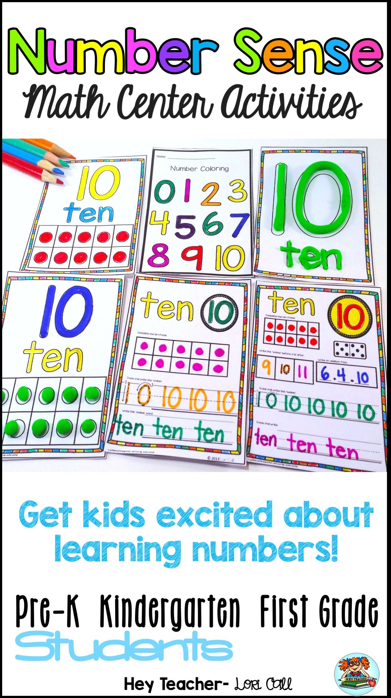 Number Sense Number Writing Practice 0 20 Pre K