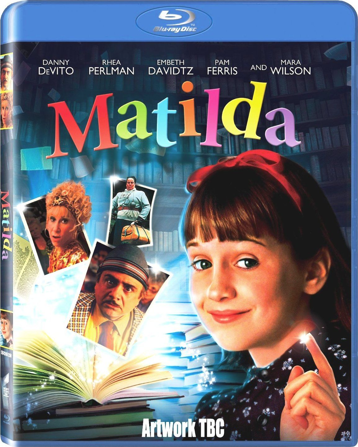 Matilda Blu Ray December 3 2013 Blu Ray Movies Matilda Kids Movies